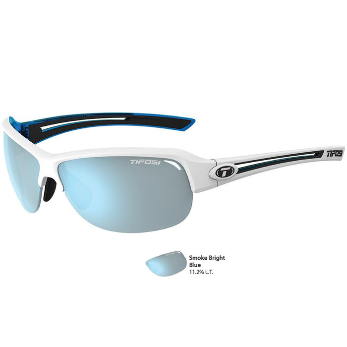 Tifosi Mira Skycloud Single Lens Sunglasses - Smoke Bright Blue