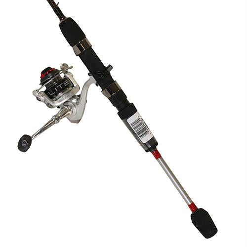 "Xtralite Spinning Combo - 5.2:1 Gear Ratio, 3+1 Bearings, 4'6"" 1pc Rod, 2-6 lb Line Rate, Ambidextrous"