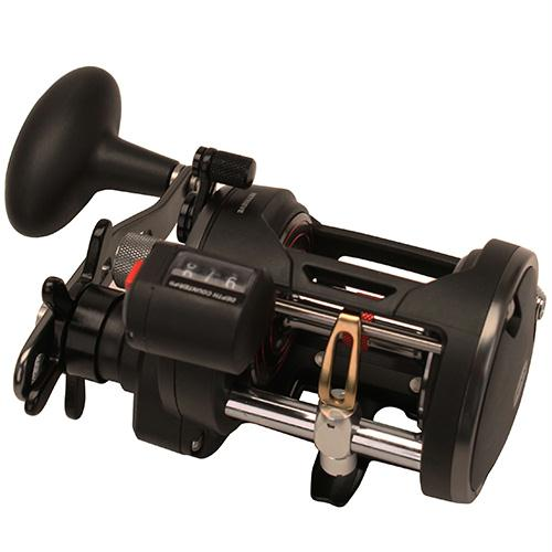 "Warfare Level Wind Conventional Reel - 20, 5.1:1 Gear Ratio, 29"" Retrieve Raate, 15 lb Max Drag, Right Hand, Boxed"