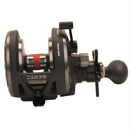 Warfare Star Drag Conventional Reel - 20N, 5.1:1 Gear Ratio, 3 Bearings, 15 lb Max Drag, Ambidextrous, Boxed