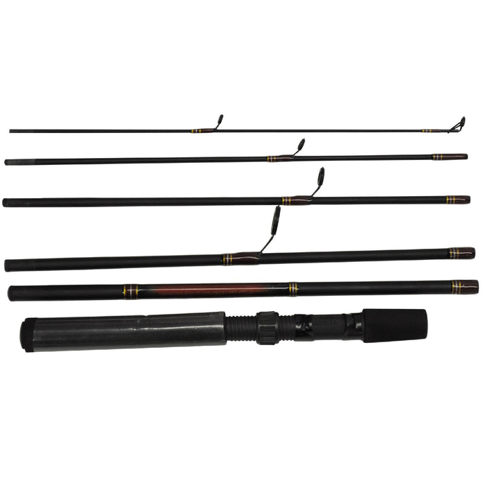 "Wilderness Fly Pack, 6'6"" Length, 6 Piece Rod, Light Power, Regular Action"