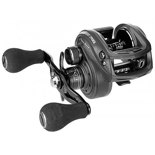 "SuperDuty Wide Speed Spool Casting Reel - 5.1:1 Gear Ratio, 11 Bearings, 21"" Retrieve Rate, 14 lb Max Drag, Right Hand"