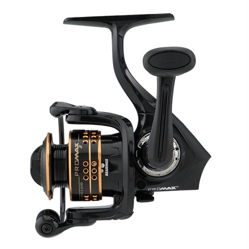 "Pro Max Spinning Reel - 10, 5.2:1 Gear Ratio, 7 Bearings, 21"" Retrieve Rate, Ambidextrous, Boxed"