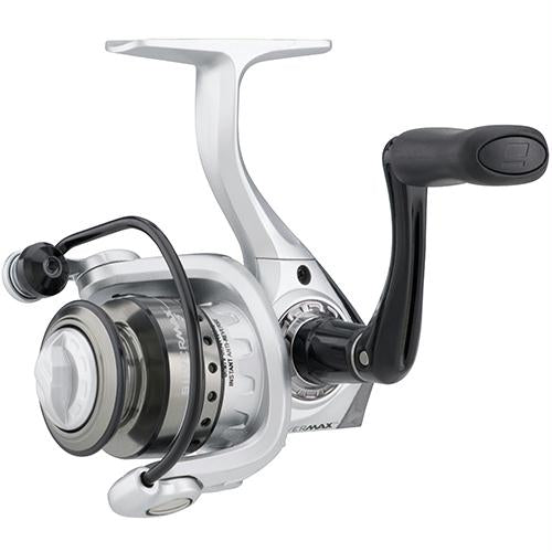 "Silver Max Spinning Reel - 5, 5.2:1 Gear Ratio, 6 Bearings, 20 1-2"" Retrieve Rate, Ambidextrous, Clam Pack"