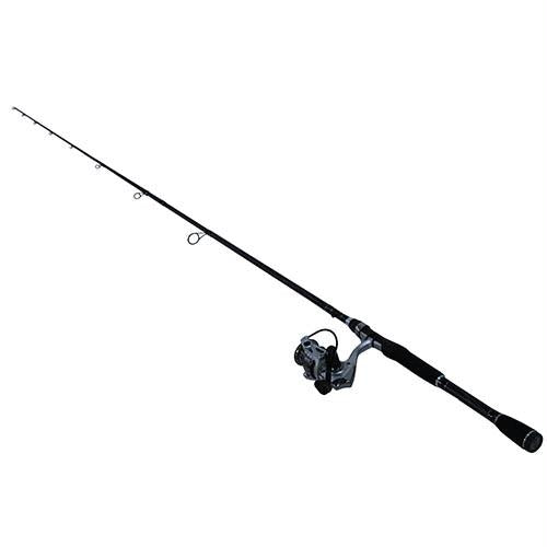 Silver Max Spinning Combo - 40, 5.1:1 Gear Ratio, 7' Length, 2 Piece Rod, 8-17 lb Line Rate, Medium Power