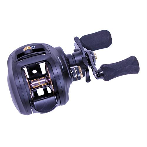 Smoke Heavy Duty Baitcast Reel -  5.3:1, 7 Bearing, Right Hand