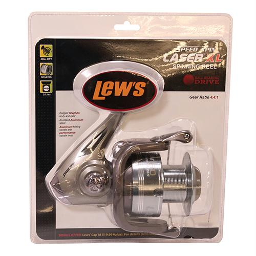 "XL Speed Spin Spinning Reel - 70 Reel Size, 4.4:1 Gear Ratio, 37"" Retrieve Rate, Ambidextrous, Clam Package"