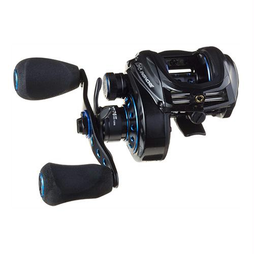 "Revo Inshore Low Profile Baitcasting Reel - 7.3:1 Gear Ratio, 30"" Retrieve Rate, 24 lb Max Drag, 7 Bearings, Right Hand"
