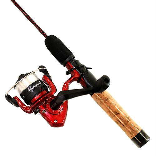 Ugly Stik Dock Runner Spinning Combo, 3' Length, 4-8 lb Line Rate, Ambidextrous