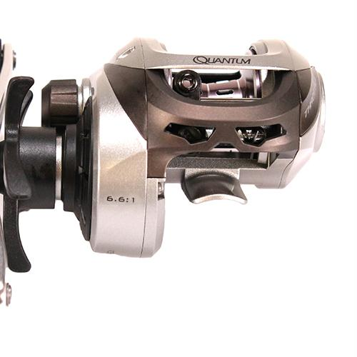Throttle 100 Baitcasting Reel - 6.6:1 Gear Ratio, 7BB+1RB Bearings, Right Hand