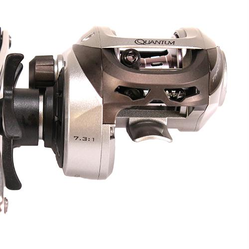 Throttle 100 Baitcasting Reel - 7.3:1 Gear Ratio, 7BB+1RB Bearings, Right Hand