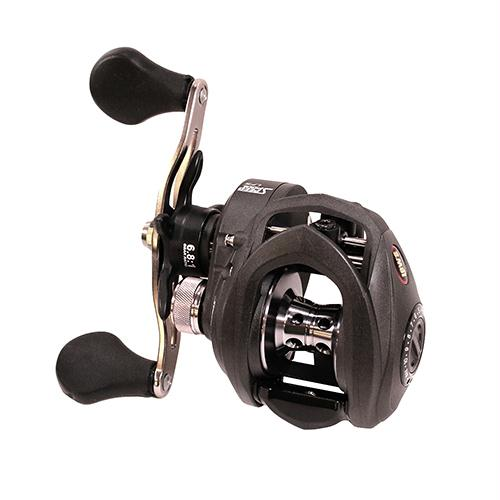 Speed Spool LFS Baitcasting Reel - 6 8:1 Gear Ratio, 9SS+1 RB Bearings,  Left Hand