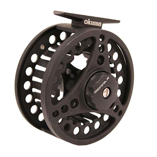 "Sierra Fly Reel - 7.50"" Retrieve Rate, 2+1 Bearings, 5-6 Line Weight, Ambidextrous"