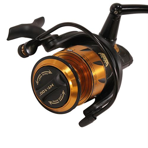 "Spinfisher VI Spinning Saltwater Reel - 5500 Reel Size, 5.6:1 Gear Ratio, 39"" Retrieve Rate, 6 Bearings, Ambidextrous"