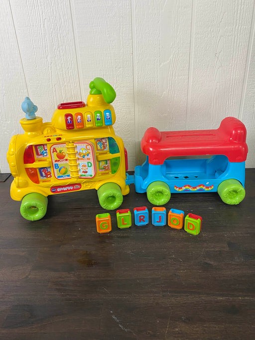 used VTech Sit To Stand Alphabet Train