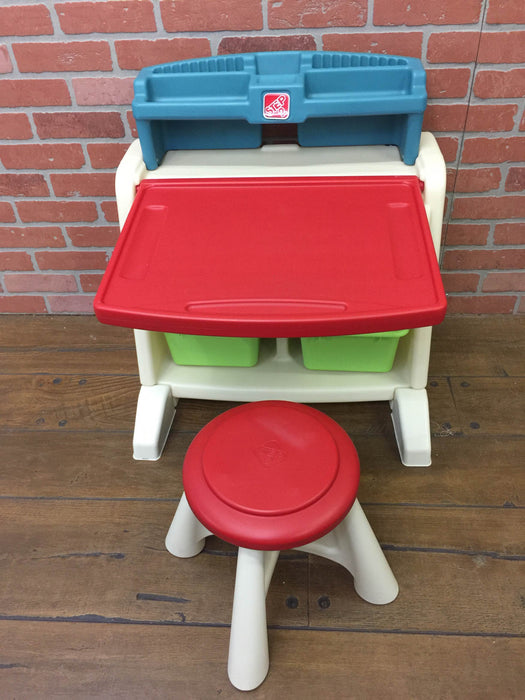 Cool Step2 Flip Doodle Easel Desk With Stool Caraccident5 Cool Chair Designs And Ideas Caraccident5Info