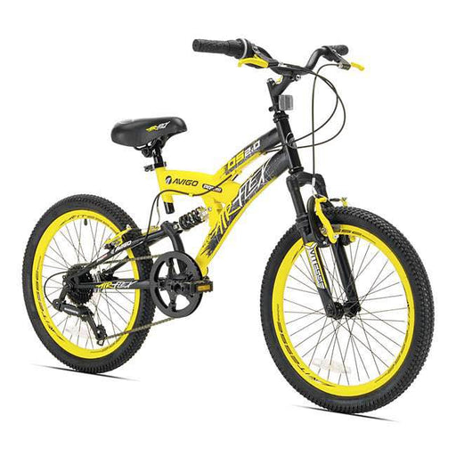 Avigo Air Flex Dual Suspension Bike, 20""