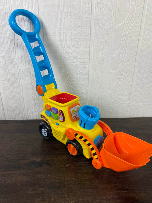 used VTech Pop-A-Balls Push And POP Bulldozer
