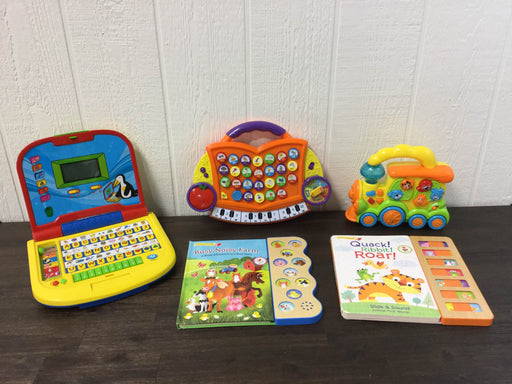 used BUNDLE Interactive Toddler Learning Toys