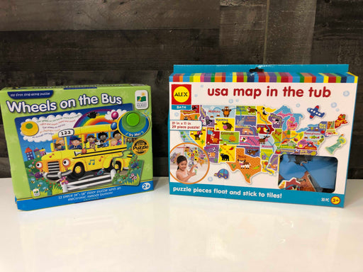 BUNDLE Toddler-Preschool Puzzles