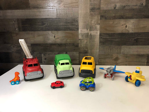 used BUNDLE Green Toys Trucks