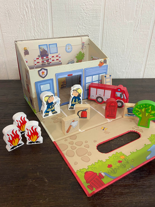 used HABA To The Rescue Wood Fire House