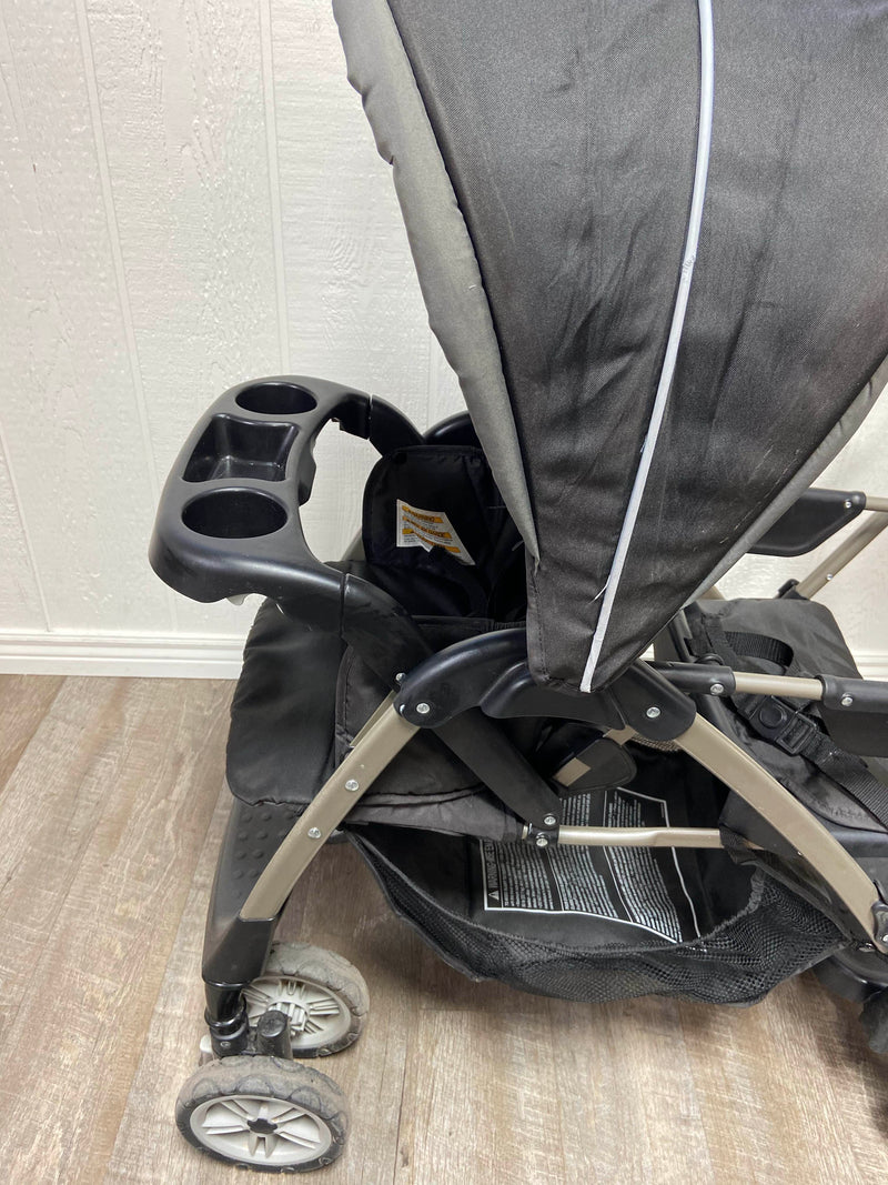 used Graco RoomFor2 Stand And Ride Double Stroller