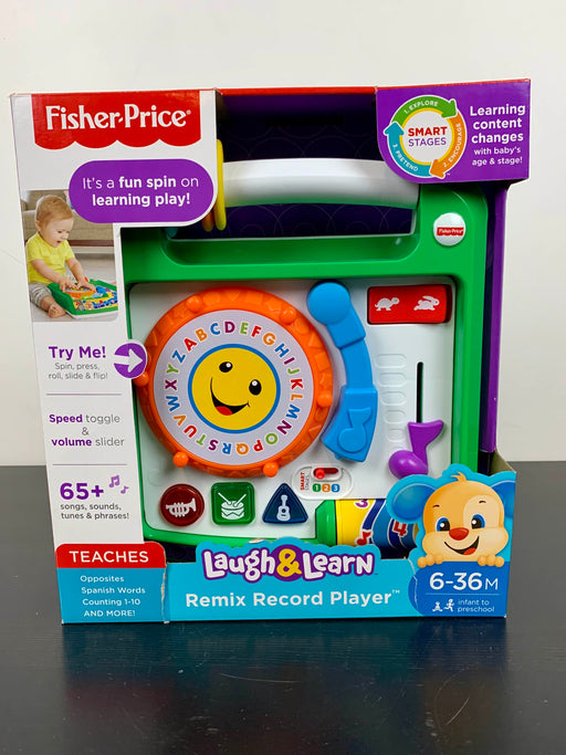 used Fisher Price Laugh And Learn Remix Record Player