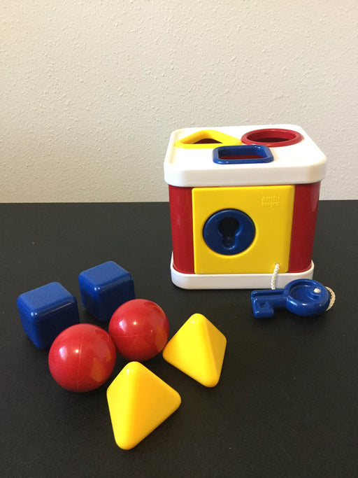 used Ambi Toys Lock A Block Shape Sorter