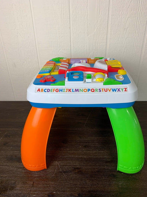used Fisher Price Laugh And Learn Around The Town Learning Table