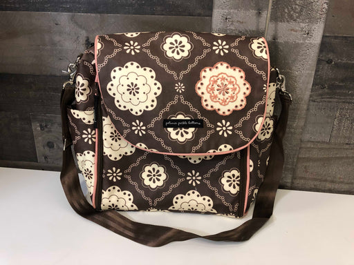 Petunia Pickle Bottom Glazed Boxy Backpack Diaper Bag