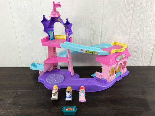 used Fisher Price Little People Disney Princess Klip Klop Stable Play Set