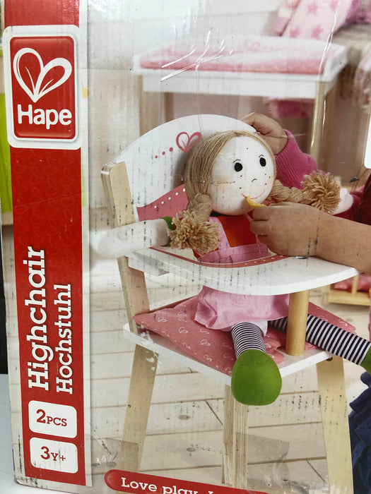 Hape Baby Doll High Chair
