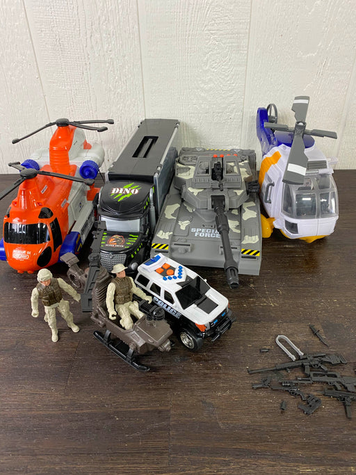 used BUNDLE Military Toys
