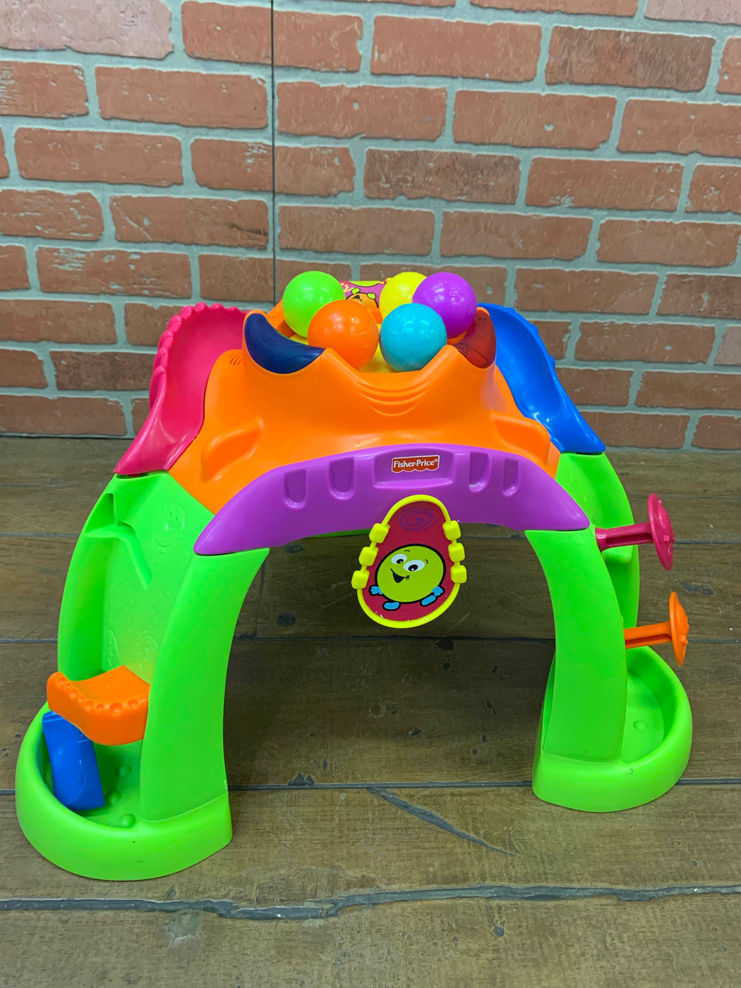 used Fisher Price Stand-up Ballcano