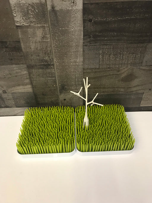 Boon Grass Countertop Drying Rack (2) with Twig Accessory