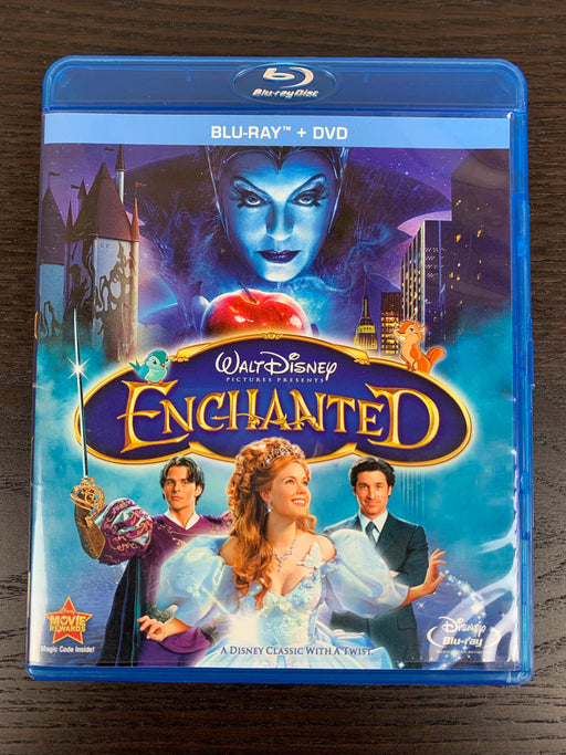used Disney Enchanted Blu-ray/DVD