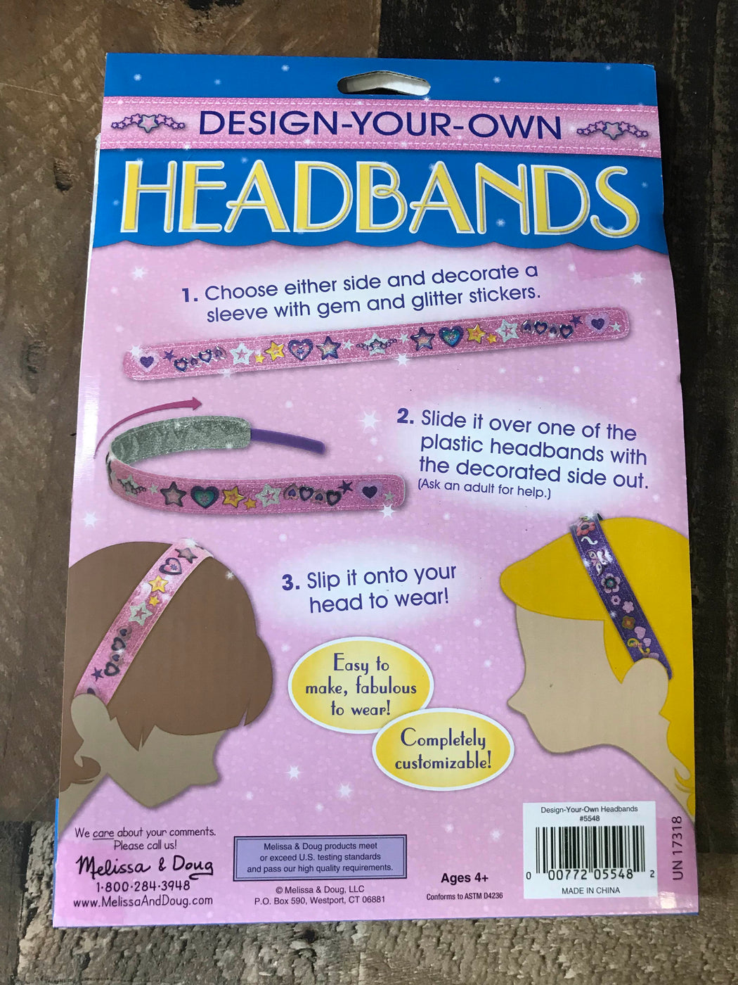 Melissa & Doug Design-Your-Own Headbands