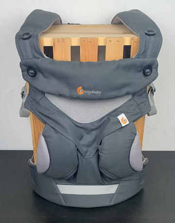 Ergobaby Four Position 360 Ergonomic Baby Carrier, Cool Air, Carbon Grey
