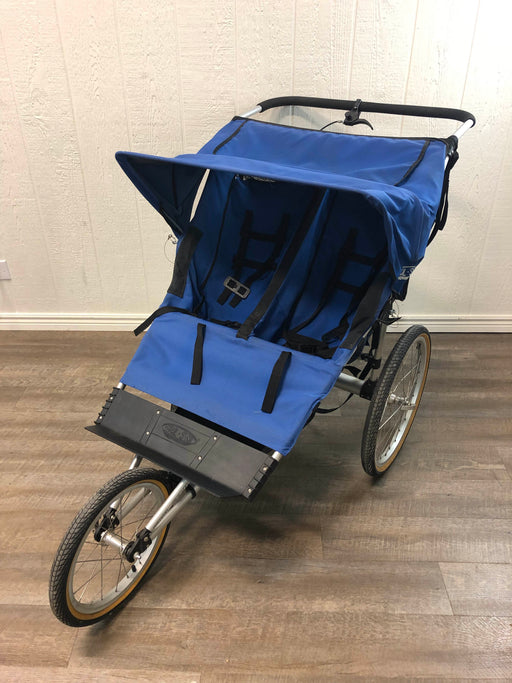 used Kool Stop Double Jogging Stroller