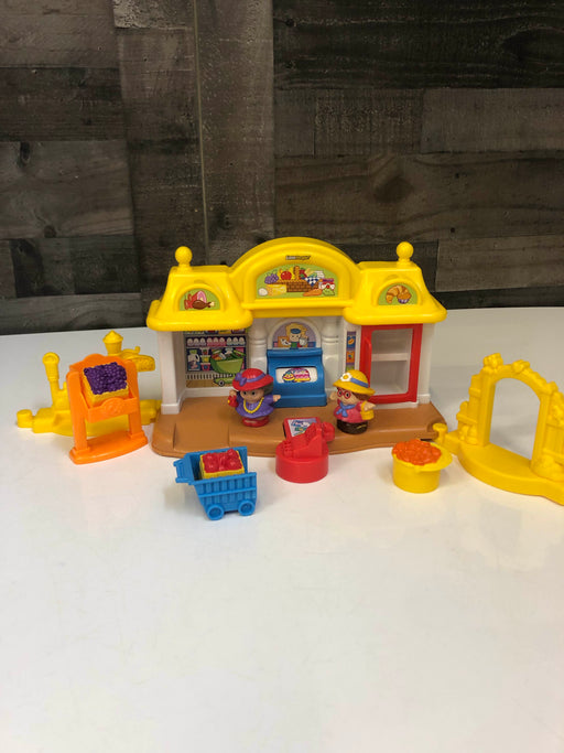 Fisher Price Little People Corner Market Playset