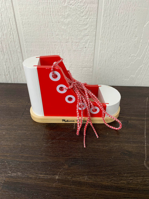 secondhand Melissa & Doug Deluxe Wood Lacing Sneaker