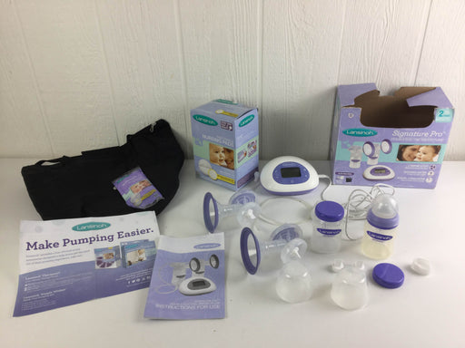used Lansinoh Double Electric Breast Pump