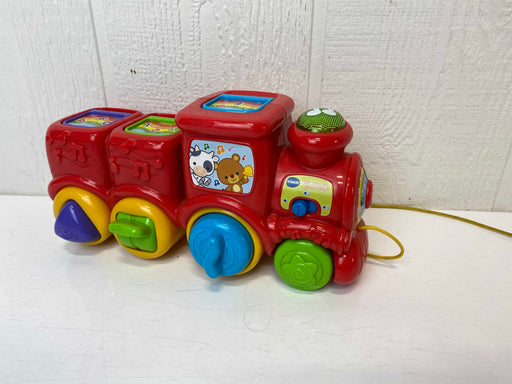 used VTech Roll And Surprise Animal Train