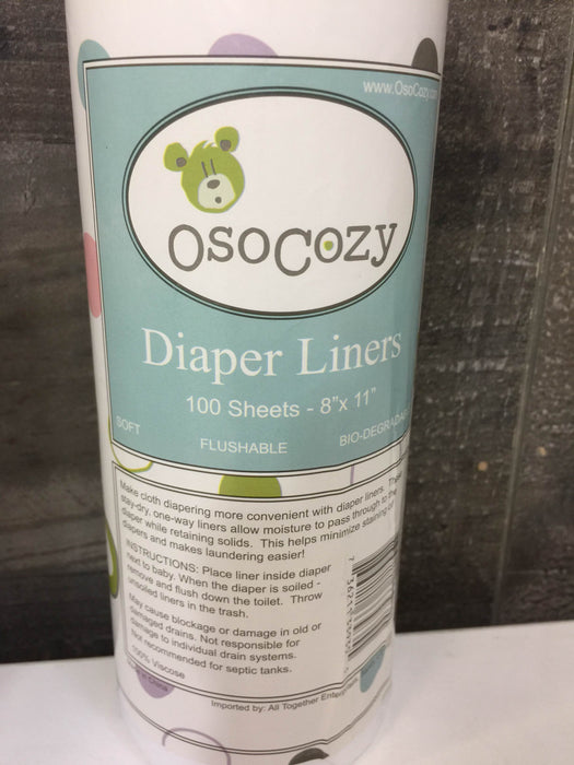 OsoCozy Diaper Liners