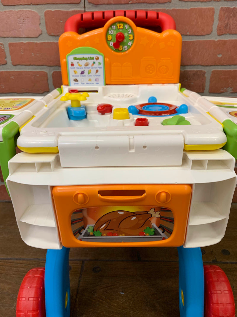 VTech 2 in 1 Shop and Cook Playset