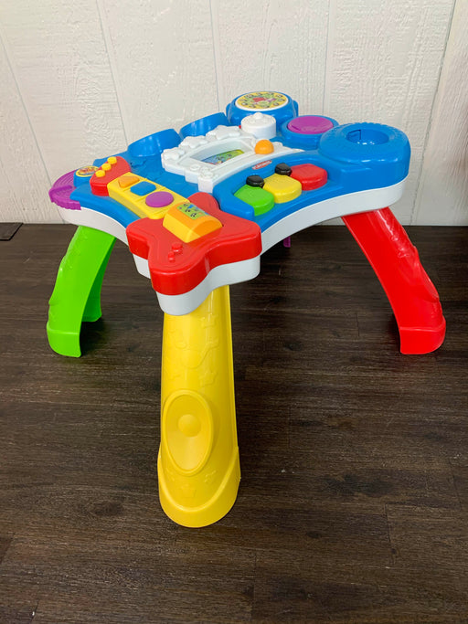 used Playskool Rocktivity Sit To Stand Music Table