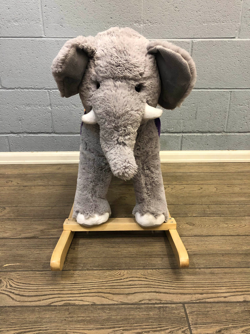 secondhand Animal Adventure Circus Elephant Rocker