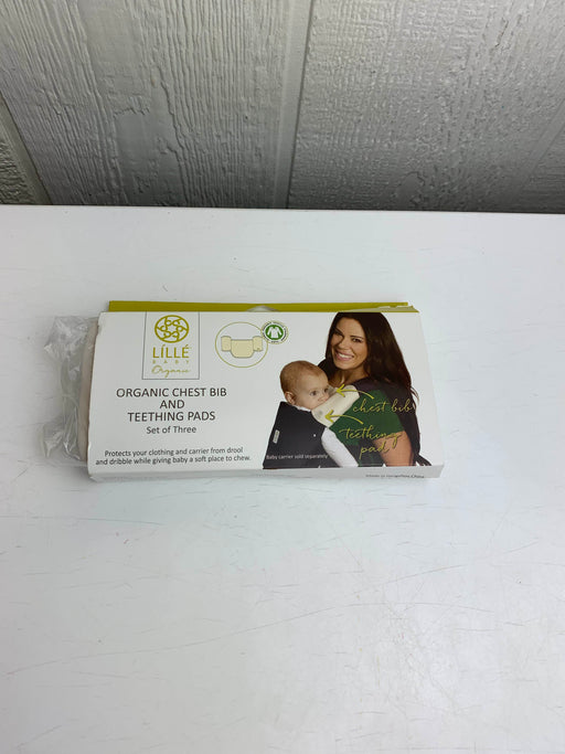used Lillebaby Organic Chest Bib and Teething Pads