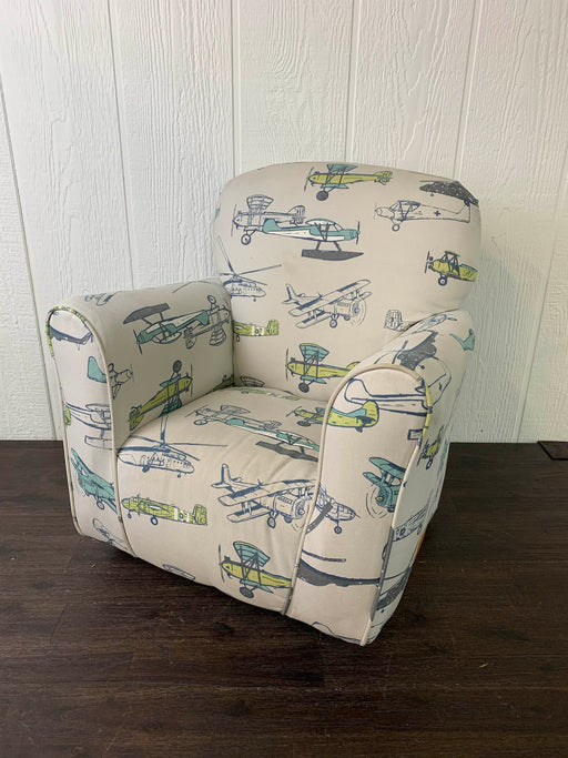 used Brighton Homes Airplane Cotton Print Kid Chair